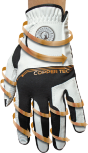 copper infused gloves for women and men | copper tech gloves