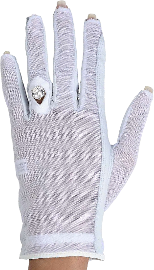 Lady Classic Golf Solar Nail and Ring Glove