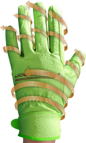 Copper Tech Garden Glove